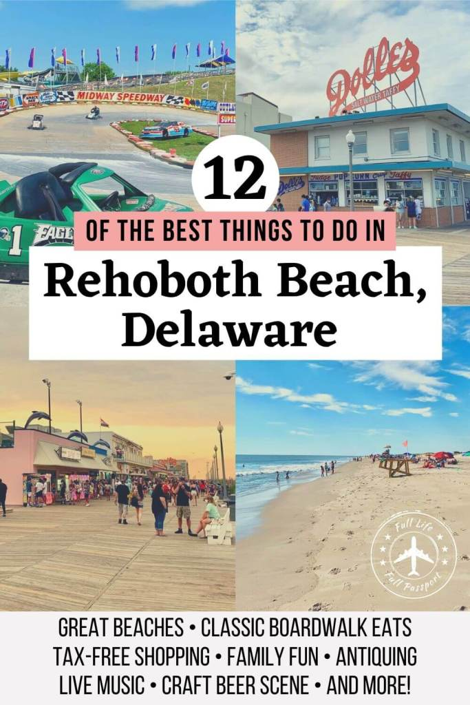 Rehoboth Beach, Delaware, is one of the USA's top summer vacation destinations. Plan your visit with this list of the best things to do in Rehoboth Beach.