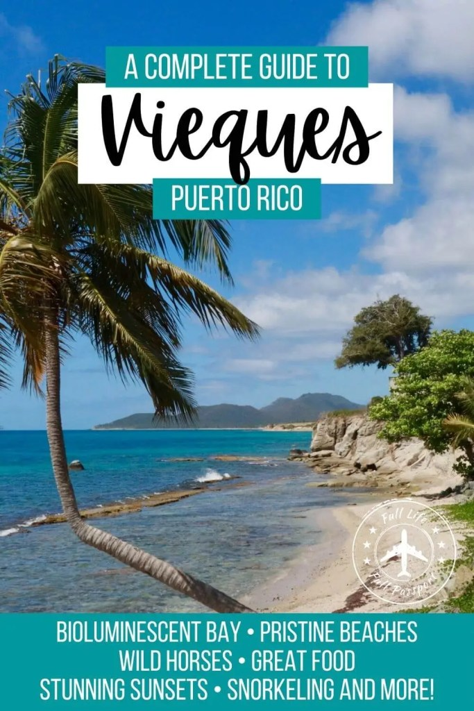 Vieques, Puerto Rico, is an incredible island with lots of great things to do! Check out this comprehensive Vieques guide to start planning your trip.