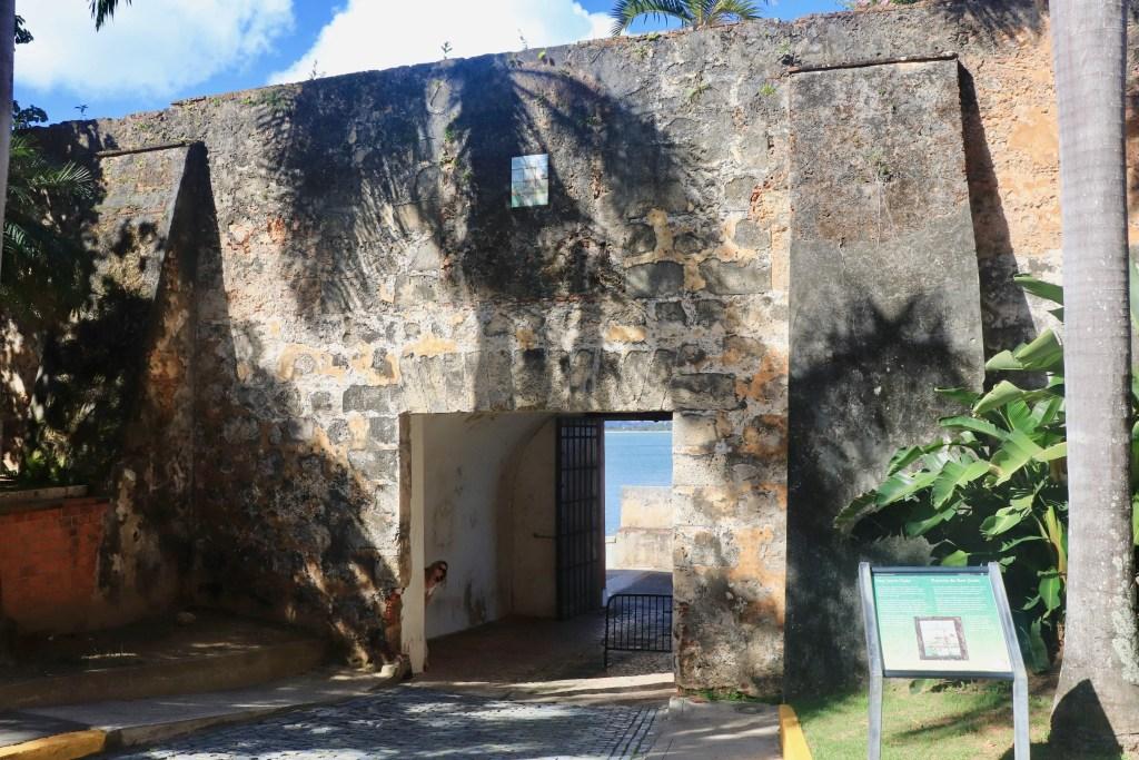 Massive stone San Juan Gate
