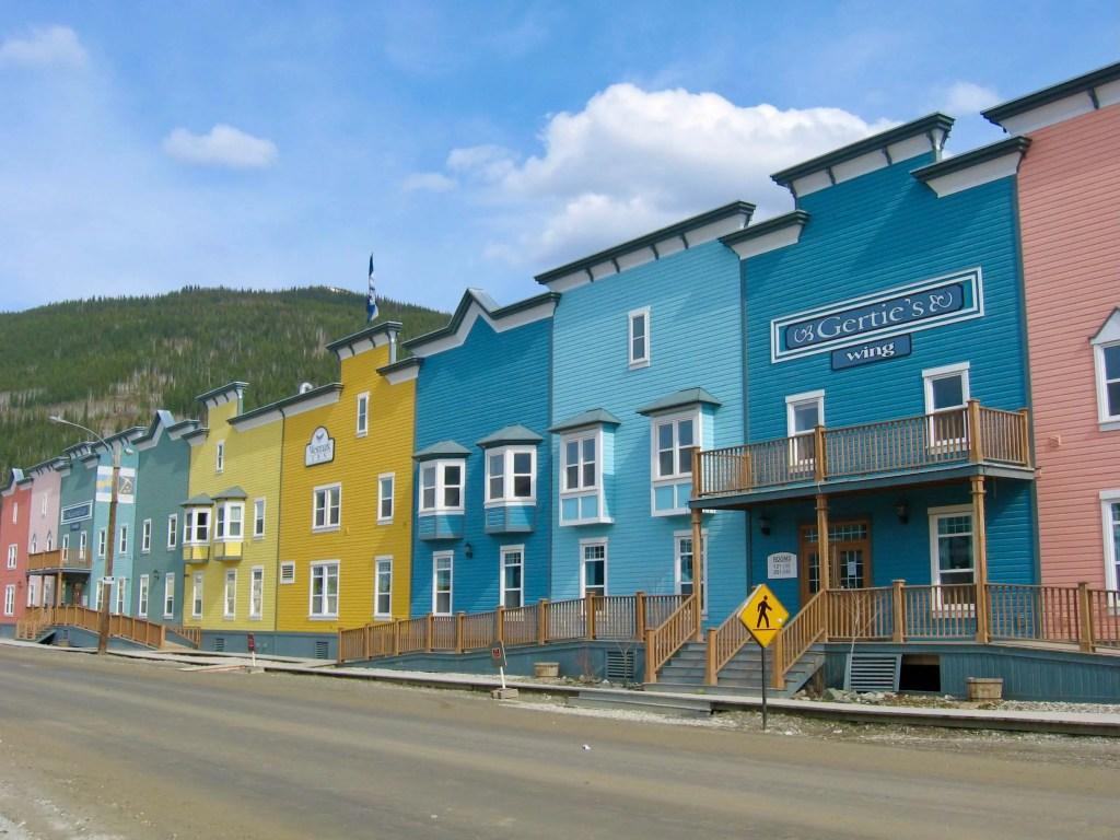 Multicolored Gertie's Wing of the Westmark Inn