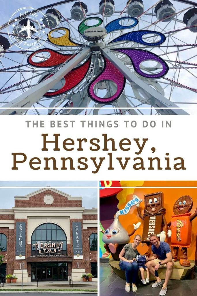 "There are so many great things to do in Hershey, PA - it's the ""Sweetest Place on Earth,"" after all! Check out my Hershey guide here."