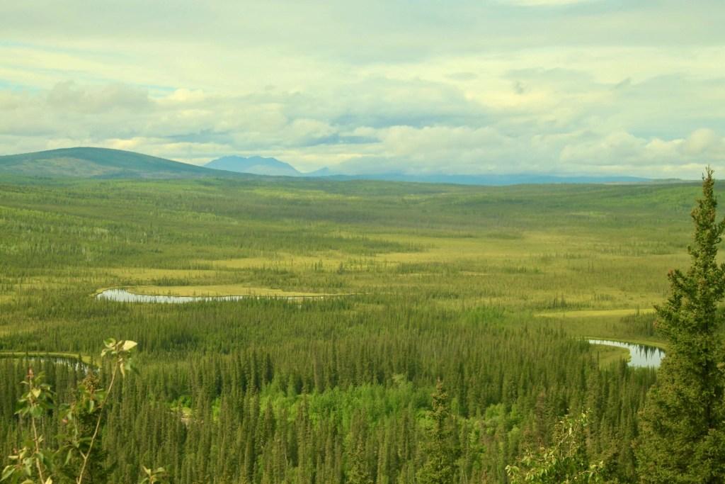 Landscape as seen from the Dalton Highway, Alaska