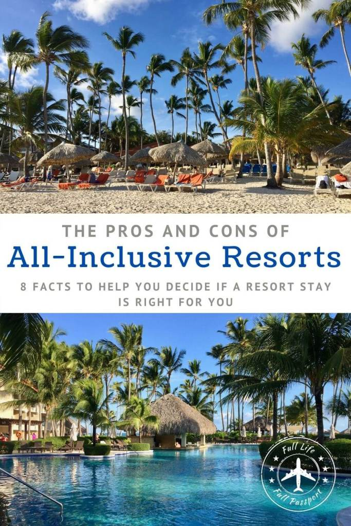 Some love them, some hate them. Check out this list of the pros and cons of all-inclusive resorts to see if they're right for you!