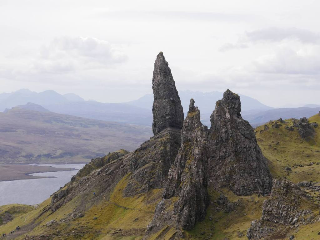 Old Man of Storr rock formations