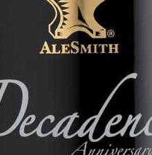 Alesmith Decadence 2008 Headline