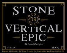 Stone 09.09.09 Vertical Epic Ale