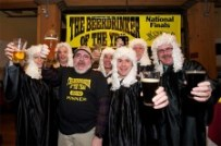 2010 Wynkoop Brewing - Beerdrinker of the year - Bill Howell with judges