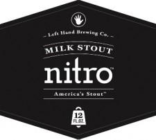 Left Hand Milk Stout Nitro Label