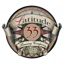 Latitude 33 Brewing Logo