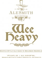 AleSmith Barrel Aged WeeHeavy 2012