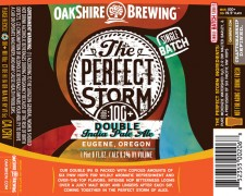 Oakshire Brewing - The Perfect Storm Double IPA (Label)
