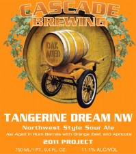 Cascade Brewing Tangerine Dream NW