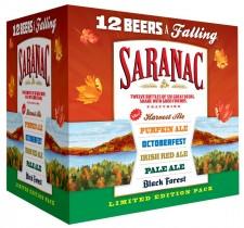 Saranac 12 Beers A Falling
