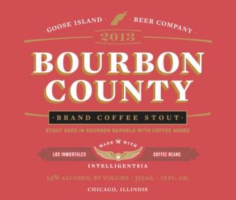 Goose Island Bourbon County 2013