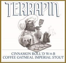 Terrapin Beer - Cinnamon Roll'd Wake-n-Bake Coffee Oatmeal Imperial Stout