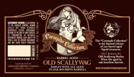 Coronado Barrel Aged Old Scallywag