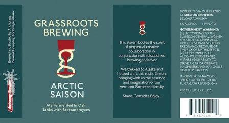 Grassroots Artic Saison Saison