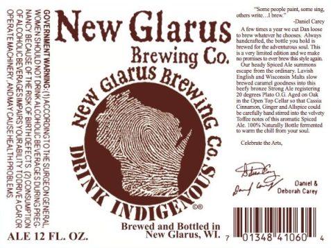 New Glarus Spiced Ale