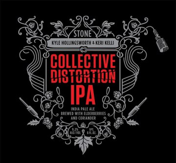 Kyle Hollingsworth/Keri Kelli/Stone Collective Distortion IPA