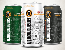 Smartmouth Brewing Cans