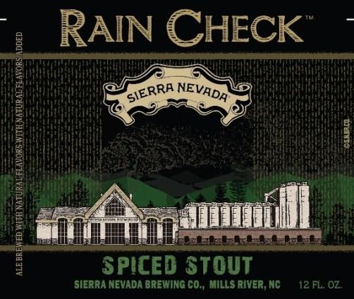 Sierra Nevada Rain Check Spiced Stout