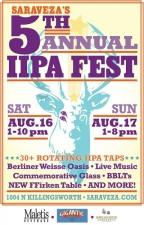 5th Annual Saraveza IIPA Fest