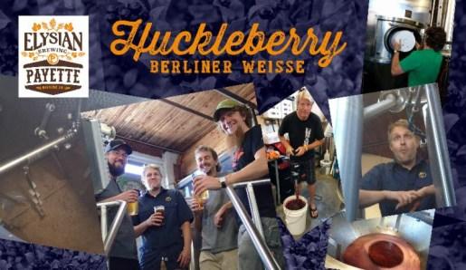 Elysian Brewing / Payette Brewing Huckleberry Berliner Weisse