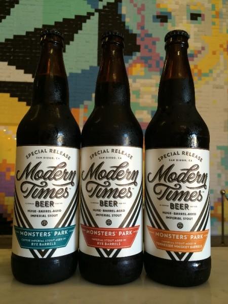 Modern Times Beer - Monsters Park (Bottles)