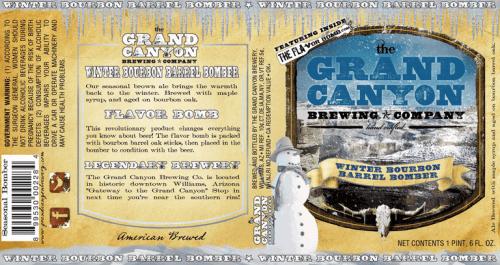 Grand Canyon Winter Bourbon Brown