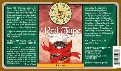 Jacks Abbey Red Tape
