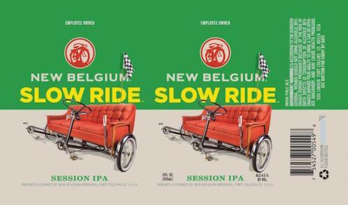 New Belgium Slow Ride Session IPA