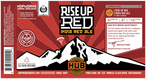 HUB Rise Up Red