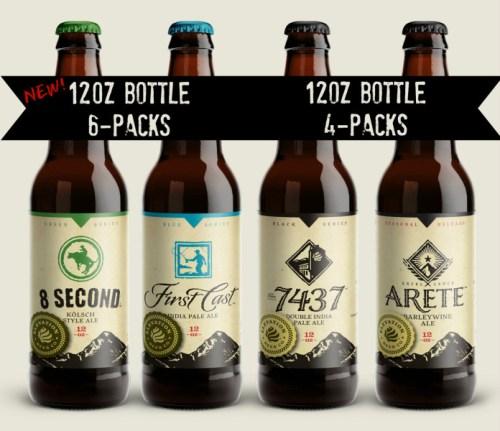 Elevation Beer Company Bottles 2015