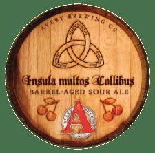 Avery Brewing - Insula multos Collibus