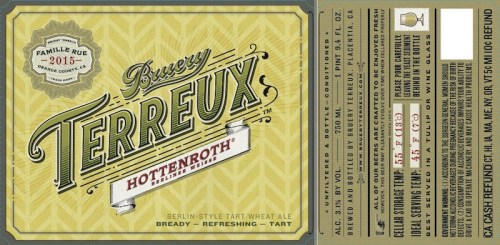 The Bruery Terreux Hottenroth