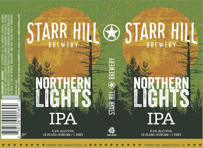 Starr Hill Northern Lights IPA