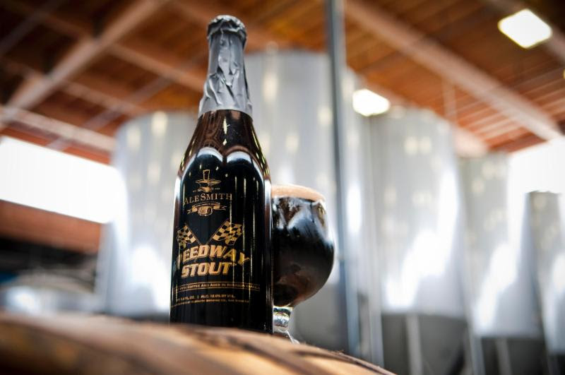 AleSmith Brewing 2015 Barrel Aged Speedway Stout