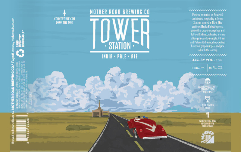 Mother Road Brewing - Tower Station IPA
