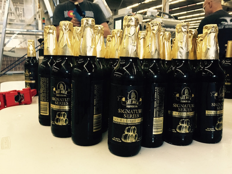 Dry Dock Double Coffee Porter Bottles