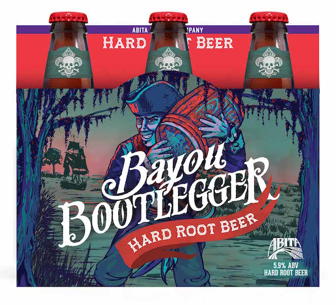 Abita Bayou Bootlegger Hard Root Beer
