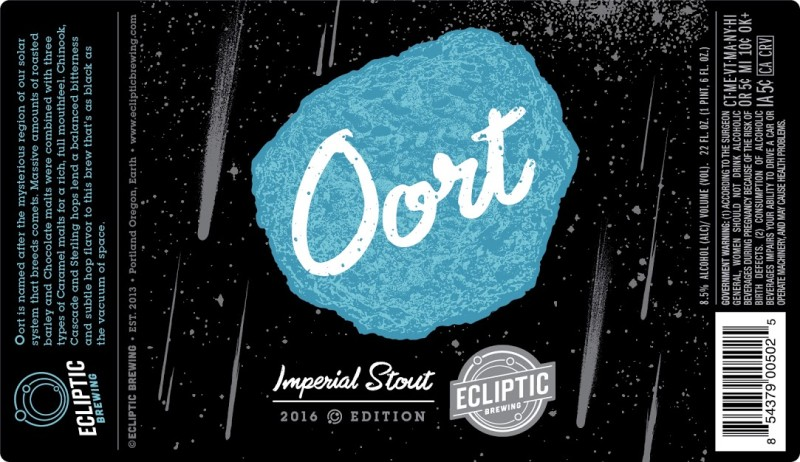 Ecliptic Brewing - Oort imperial Stout 2016