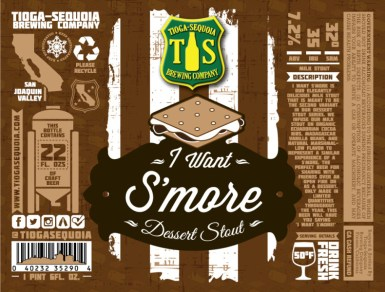 Tioga Sequoia Brewing - I want S'more