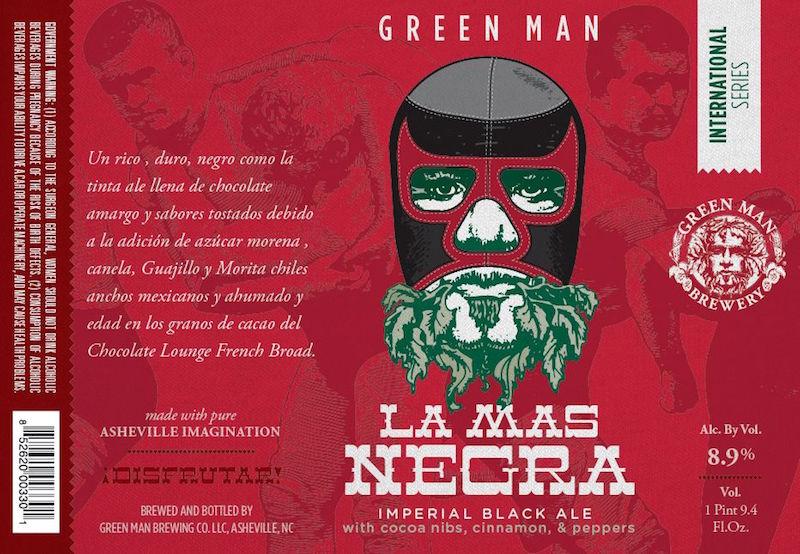 Green Man Las Mas Negra