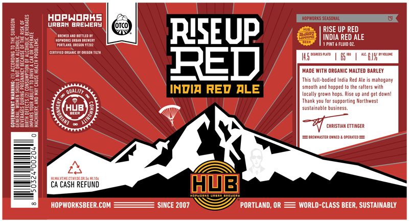 Hopworks Rise Up Red