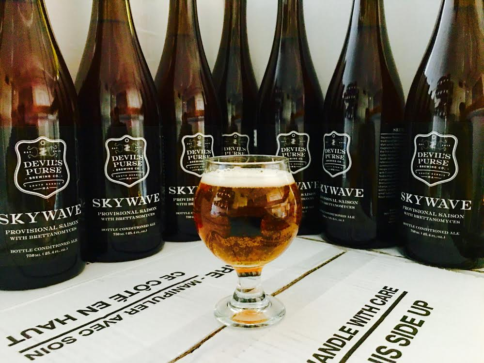Devil's Purse Brewing - Skywave Provisional Saison
