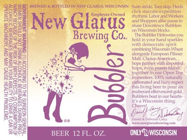 New Glarus Bubbler