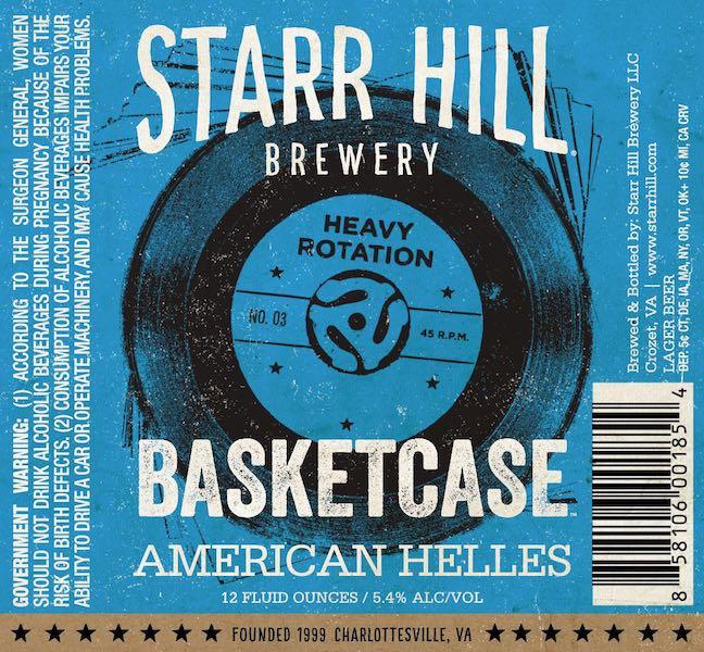 Starr Hill Basketcase American Helles