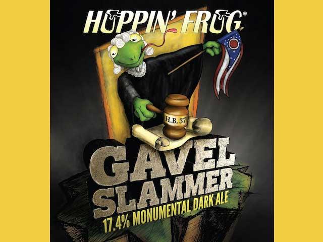 Hoppin Frog Gavel Slammer