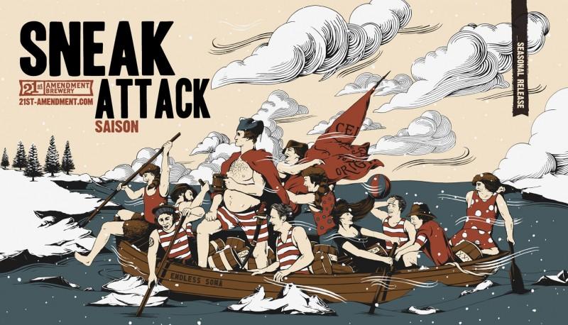 21st Amendment - Sneak Attack Saison