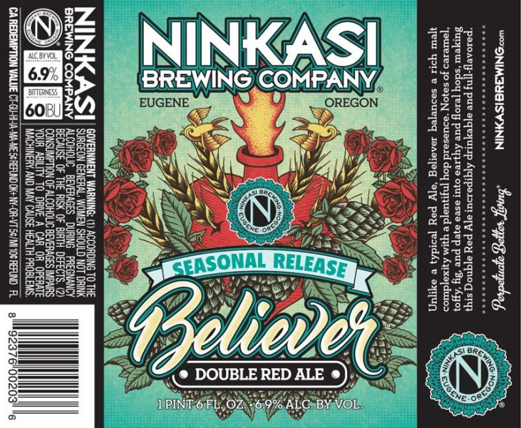 Ninkasi Believer Double Red Ale